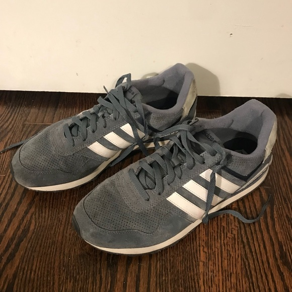 brand new 0373b 6f11f adidas Other - Men s adidas neo ortholite dusty blue 10.5 white